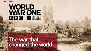War that Changed the world logo