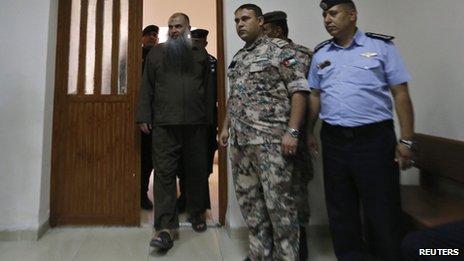 Abu Qatada in court