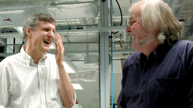 Steve Squyres and Colin Pillinger
