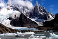 El Chalten area in Argentina
