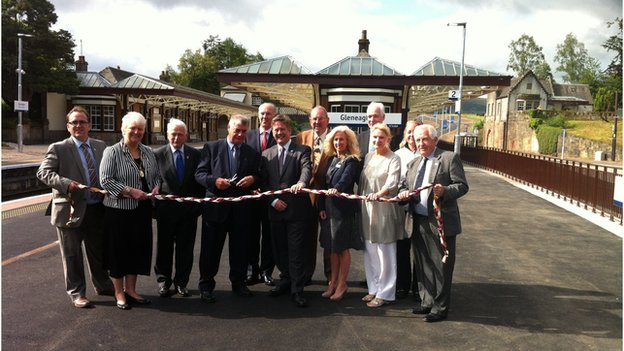 Gleneagles station opening