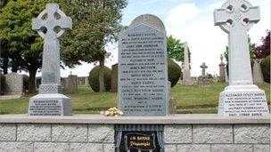 JM Barrie's grave