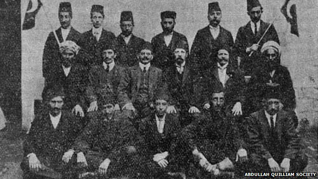 Members of the mosque