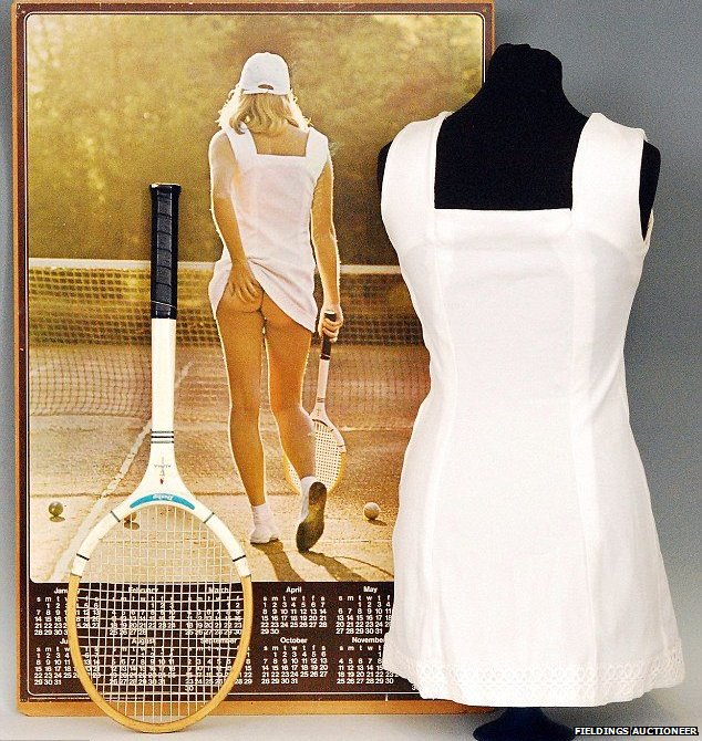 Athena Tennis Girl Poster Dress Up For Auction