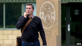 New Hibs boss Alan Stubbs
