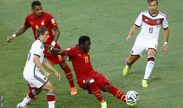 Kevin-Prince Boateng and Sulley Muntari