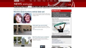 BBC Scotland website