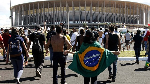 World Cup 2014: Estadio Nacional de Brasilia