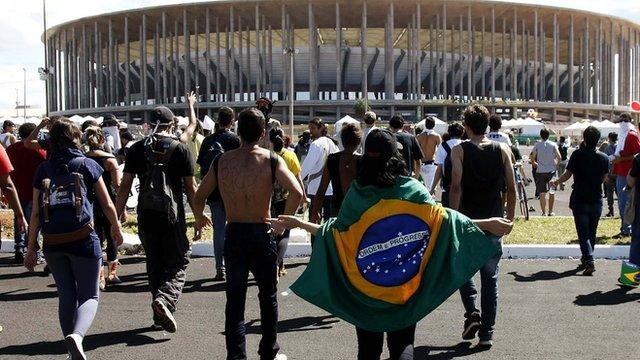 World Cup 2014: Estadio Nacional de Brasilia