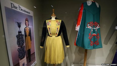 Irish dancing costumes from the the late 1900s