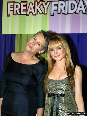 Jamie Lee Curtis and Lindsay Lohan