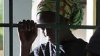 Woman praying at a church in Maiduguri 23 May, 2014