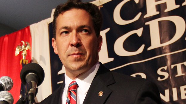 Mississippi Senate candidate Chris McDaniel