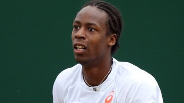 Gael Monfils is knocked-out of Wimbledon in the second round
