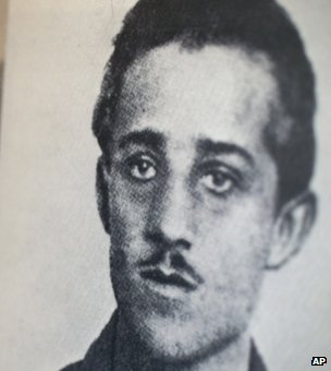 Bosnian Serb nationalist Gavrilo Princip