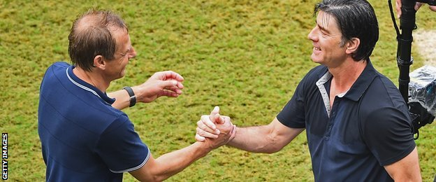 Jurgen Klinsmann and Joachim Low
