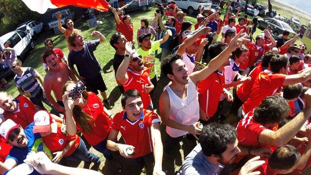 Chilean fans