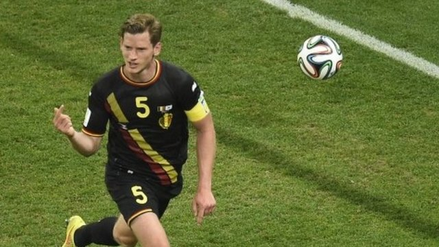 Jan Vertonghen's goal gives Belgium a 1-0 win over South Korea