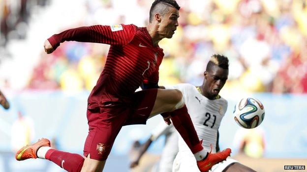 Cristiano Ronaldo, Portugal vs. Ghana