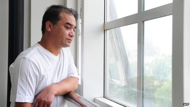 University professor, blogger, and member of the Muslim Uighur minority, Ilham Tohti in Beijing on 12 June 2010.