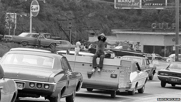 Woodstock goer