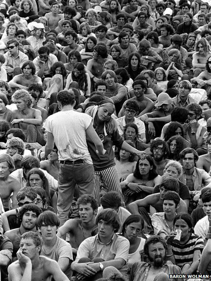 Woodstock audience