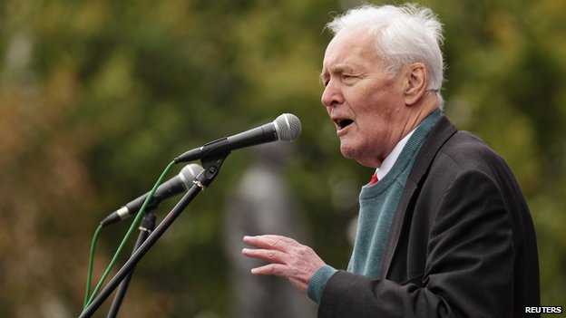Tony Benn in 2011