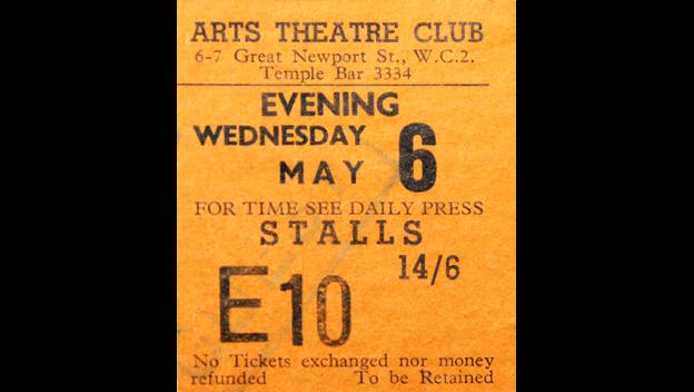 Arts Theatre ticket