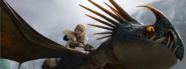 A scene from How to Train Your Dragon 2