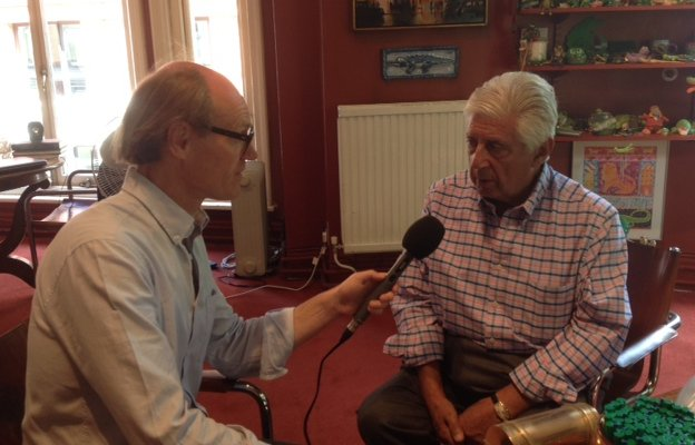 Sir Michael Codron speaks with Will Gompertz