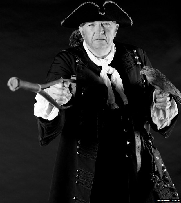 Philip Pullman as Long John Silver
