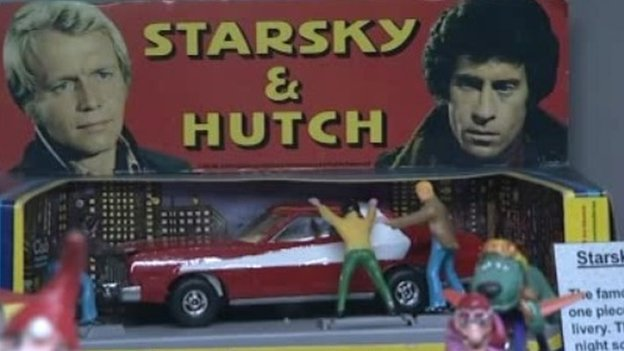 Old Corgi Starsky and Hutch toy