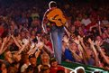 Easton Corbin performs during Kicker Country Stampede at Tuttle Creek State Park in Manhattan, Kansas