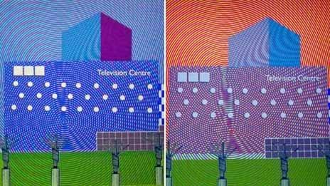 Screen prints of TVC