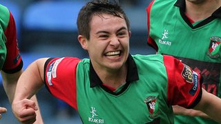 Jordan Stewart emerged as a star of the Glentoran team last season