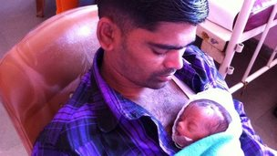 father kangaroo care