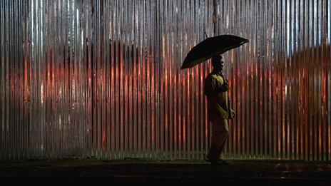 Rainfall in Bangalore