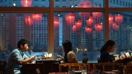 Restaurant in Beijing, June 2014