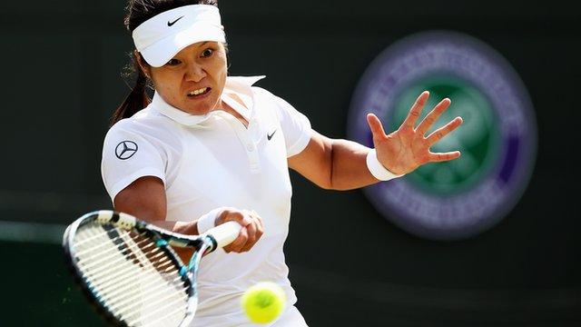 Li Na bows out of Wimbledon