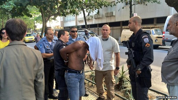 Suspect in Brazil