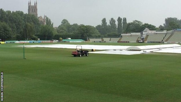 Rain at New Road