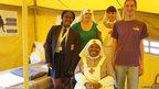 Imanuella with Steve Moralee, Rebecca Cavanagh, Ngozi Ugochukisu and Linda de Battisha