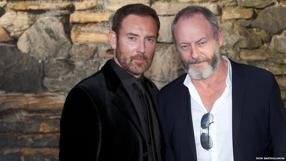 Bryan Larkin and Liam Cunningham