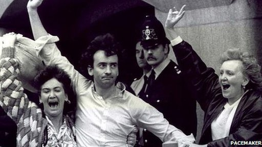 Gerry Conlon on his release