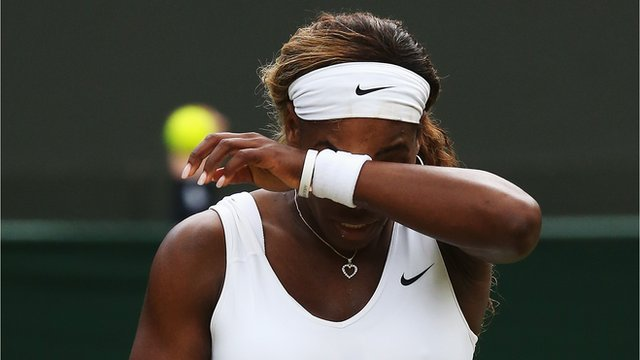 Wimbledon 2014: Serena Williams goes out to Alize Cornet