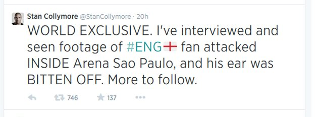 Stan Collymore tweet