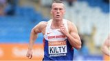 Richard Kilty at the British Championships