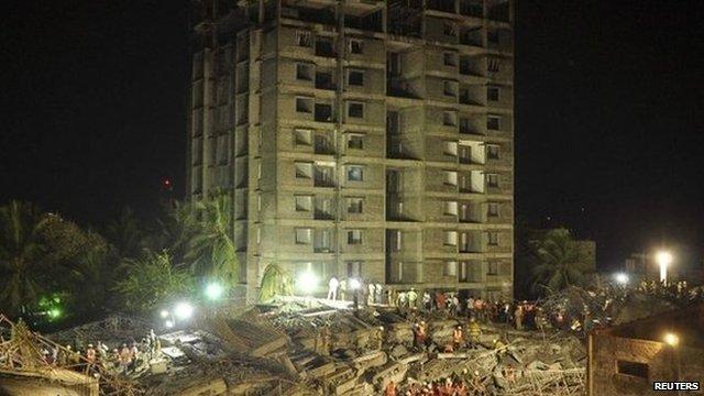 Chennai building collapse - 28 June