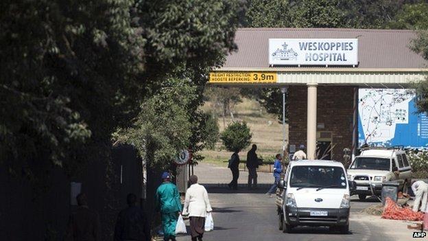 File photo of the Weskoppies Psychiatric Hospital in Pretoria