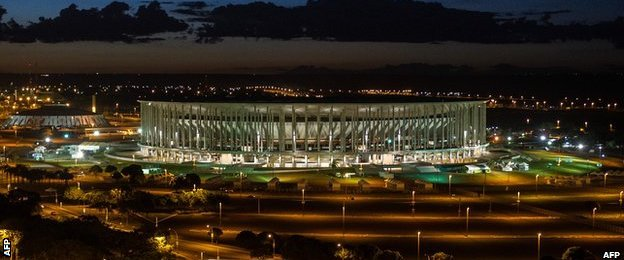 Stadium Nacional Mane Garrincha, Brasilia, Brazil